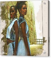Tale Of Two Sister Acrylic Print