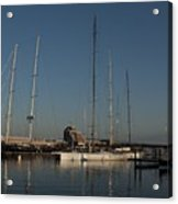 Tall Boats In The Morning Acrylic Print