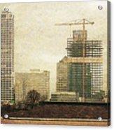 Tall Buildings Acrylic Print