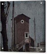 Tall Little Stilt House 3 Acrylic Print