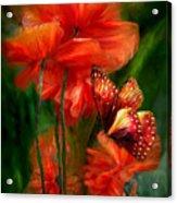 Tall Poppies Acrylic Print