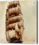 Tall Ship Carradale Acrylic Print
