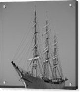 Tall Ship Denmark  Acrylic Print by Dustin K Ryan