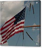 Tall Ship Flag IIi Acrylic Print