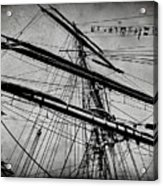 Tall Ship Mast V3 Acrylic Print