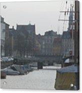 Tall Ship Of Copenhagen Acrylic Print