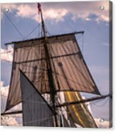 Tall Ship Sails 6 Acrylic Print