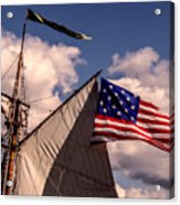 Tall Ship Sails 8 Acrylic Print