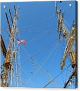 Tall Ship Series 16 Acrylic Print by Scott Hovind