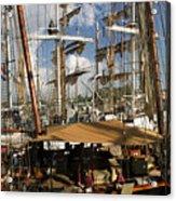 Tall Ships Heritage Landing Acrylic Print