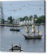 Tall Ships -hms Bounty Acrylic Print