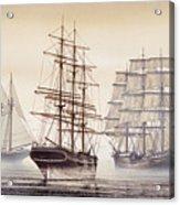 Tall Ships Acrylic Print by James Williamson