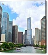 Tall Towers In Chicago Acrylic Print