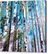 Tall Whites Acrylic Print
