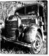 Tam Truck Black And White Acrylic Print