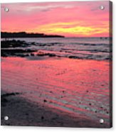 Tamarindo Sunset Acrylic Print