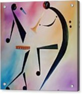 Tambourine Jam Acrylic Print