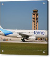 Tame Airline Acrylic Print