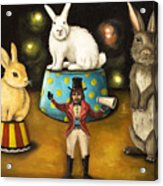 Taming Of The Giant Bunnies Acrylic Print