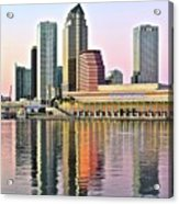 Tampa Bay Alive With Color Acrylic Print