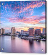 Tampa Bay Sunrise Acrylic Print