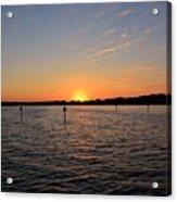 Tampa Bay Sunset Acrylic Print