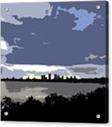 Tampa Bay Work Number Three Acrylic Print
