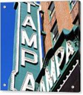 Tampa Tampa Acrylic Print