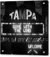 Tampa Theatre 1939 Acrylic Print by David Lee Thompson