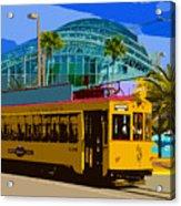 Tampa Trolley Acrylic Print