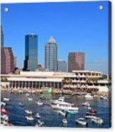 Tampa's Day Panoramic Acrylic Print