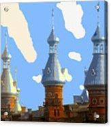 Tampa's Minarets Acrylic Print