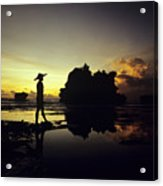 Tanah Lot Temple Acrylic Print