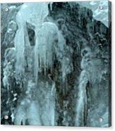 Tangle Falls Frozen Cascade Acrylic Print