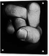 Tangled Fist Acrylic Print