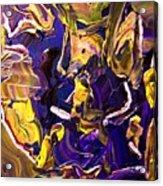 Tangled Torsos Acrylic Print