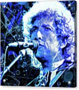 Tangled Up In Blue, Bob Dylan Acrylic Print