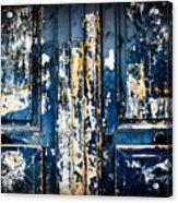 Tangled Up In Blue Acrylic Print by Cabral Stock