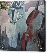 Tango And The Double Bass Acrylic Print