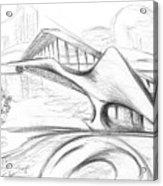 Tango Bridge. 27 March, 2015 Acrylic Print