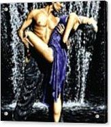 Tango Cascade Acrylic Print
