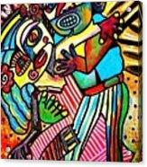 Tango Dance Of Love Acrylic Print