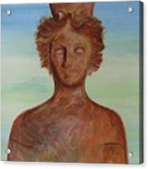 Tanit Mythical Godess Of Ibiza  Acrylic Print