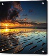 Tanjung Aru Beach Acrylic Print