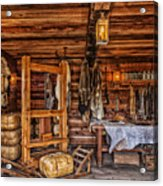 Tanning Room - Fort Ross California Acrylic Print
