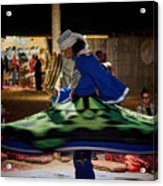 Tanoura Dancer Acrylic Print