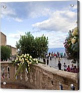 Taormina Square Acrylic Print