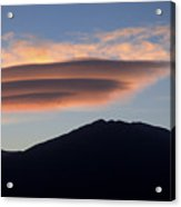 Taos Sunset Acrylic Print