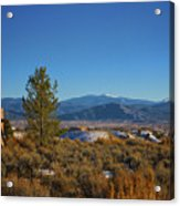 Taos Valley Acrylic Print