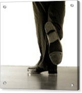 Tap Foot Acrylic Print